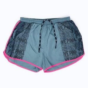 VICTORIA SECRET PINK ATHLETIC RUNNIC SHORTS (SP)
